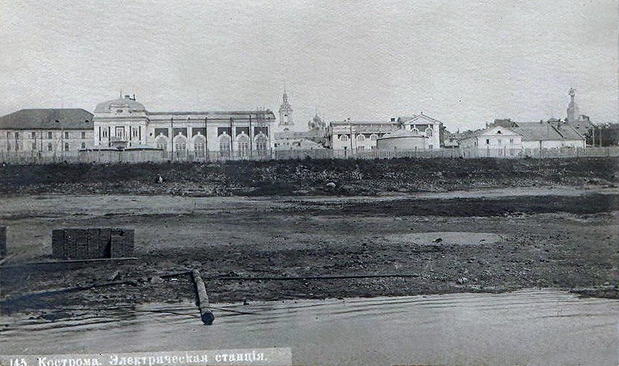 Картинки по запросу старая кострома электростанция
