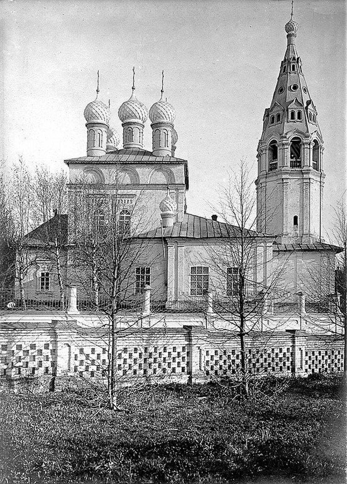 Козьмодемьянская каменная церковь на Гноище 1901—1910