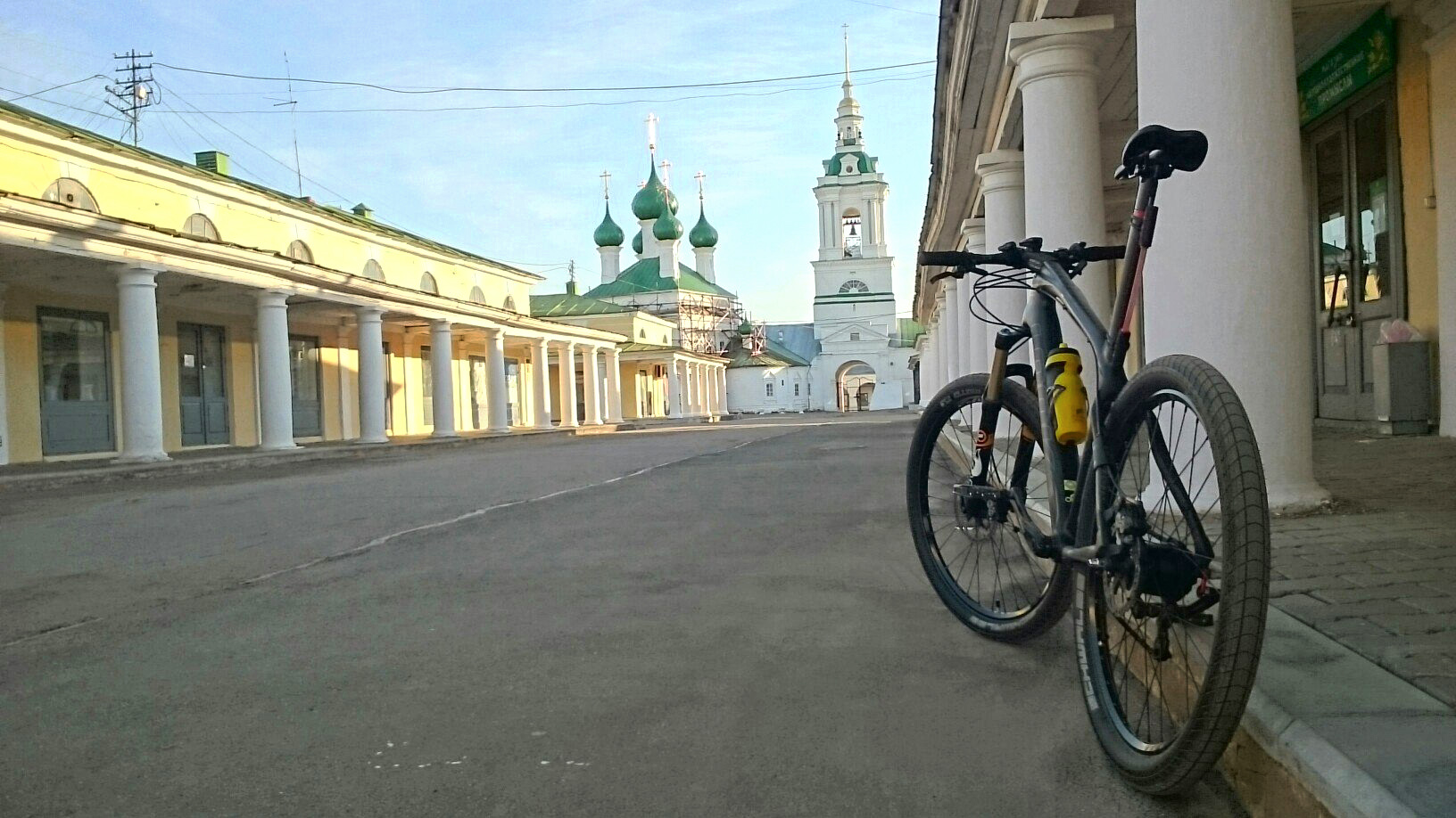 Golden Ring of Russia bicycle tour Kostroma