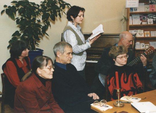 Поёт М. Захарова