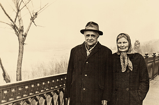 Анатолий Михайлович и Людмила Николаевна Иорданские. Нижний Новгород. Май 1974 года.