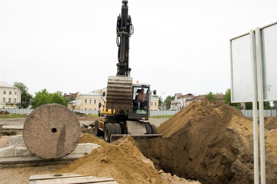 Реставрация Сусанинской площади