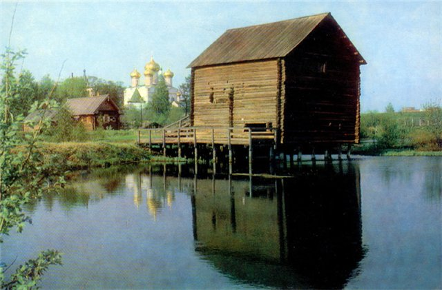 Водяная мельница из деревни Нюрюг. XIX век