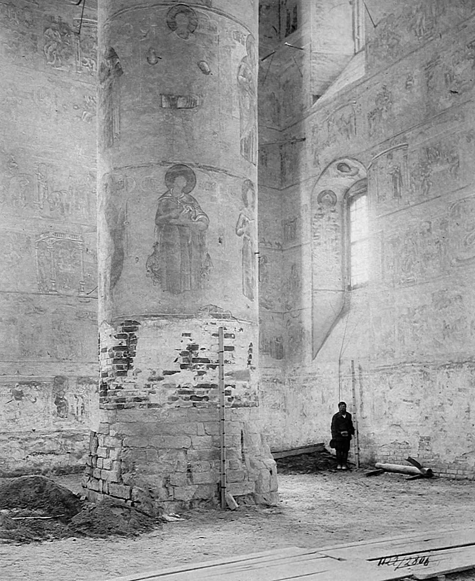 Соборный храм Святой Троицы в Макарьевском Желтоводском монастыре 1902.