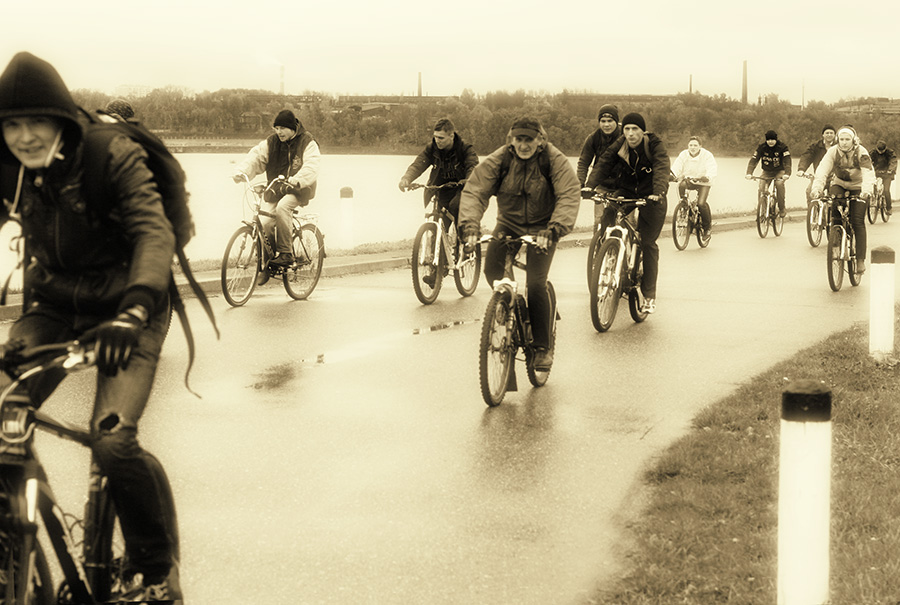 Закрытие велосезона в Костроме за