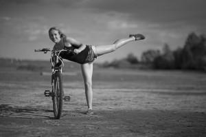 Кристина Малова. По правому берегу Волги на велосипеде