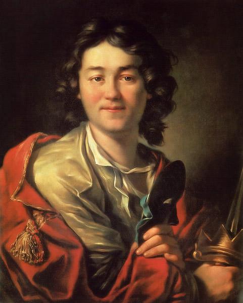 Портрет работы А. П. Лосенко, 1763 год