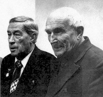А. А. Григоров и Г. Г. Пушкин