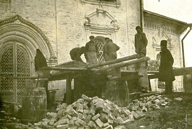 Собор Преображения Господня. г. ЧухломаРазрушен в советский период.фото 1932 года из архива краеведческого музея.
