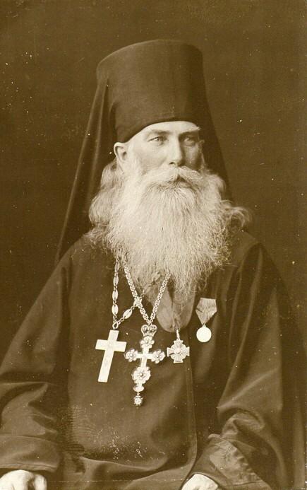 Протоиерей Николай (Соболев Николай Антонович) фото из архива краеведческого музея