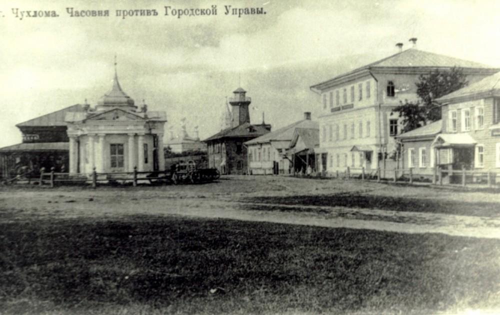 Часовня Параскевы (Пятница) Великомученицы. г. Чухлома