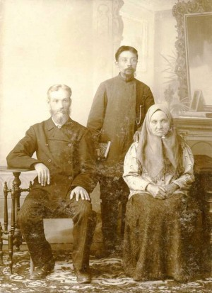 Николай Васильевич Голубинский (на фото слева) фото из архива краеведческого музея