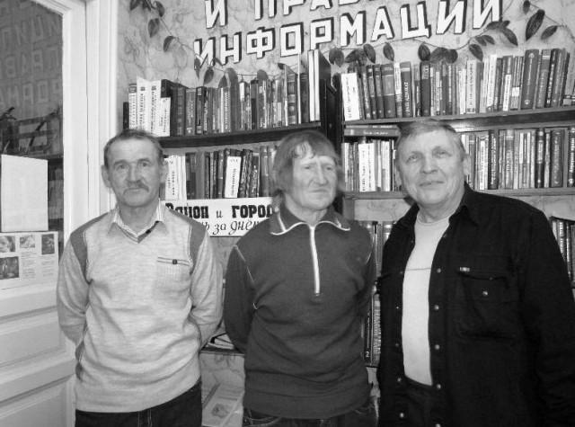 Алексей Балакин, Сергей Потехин, Василий Беликов