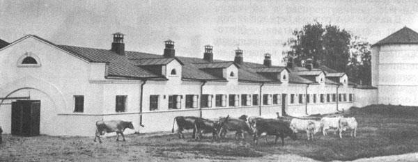 Архитектура советского села в околовоенный период на примере усадьбы совхоза «Караваево»