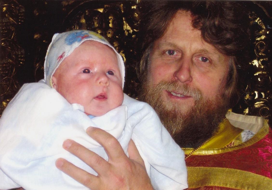 Протоиерей отец Александр (Воробьев). фото 2006 года