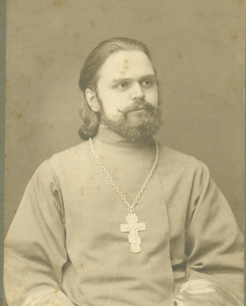 Отец Николай (Голоушин). фото нач. XX века.