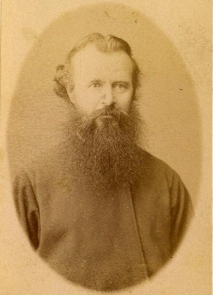 Отец Иосиф (Софийский). фото конца XIX века.