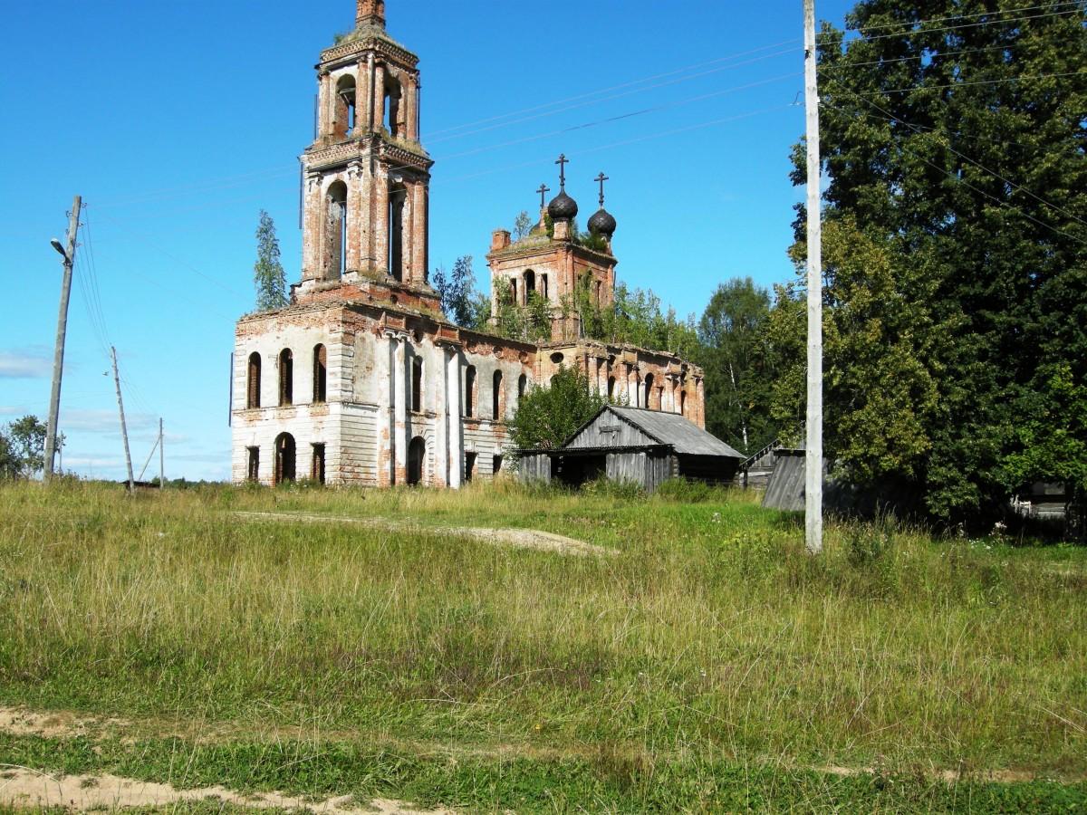 Церковь Воскресения села Муравьище фото Е.Балашовой