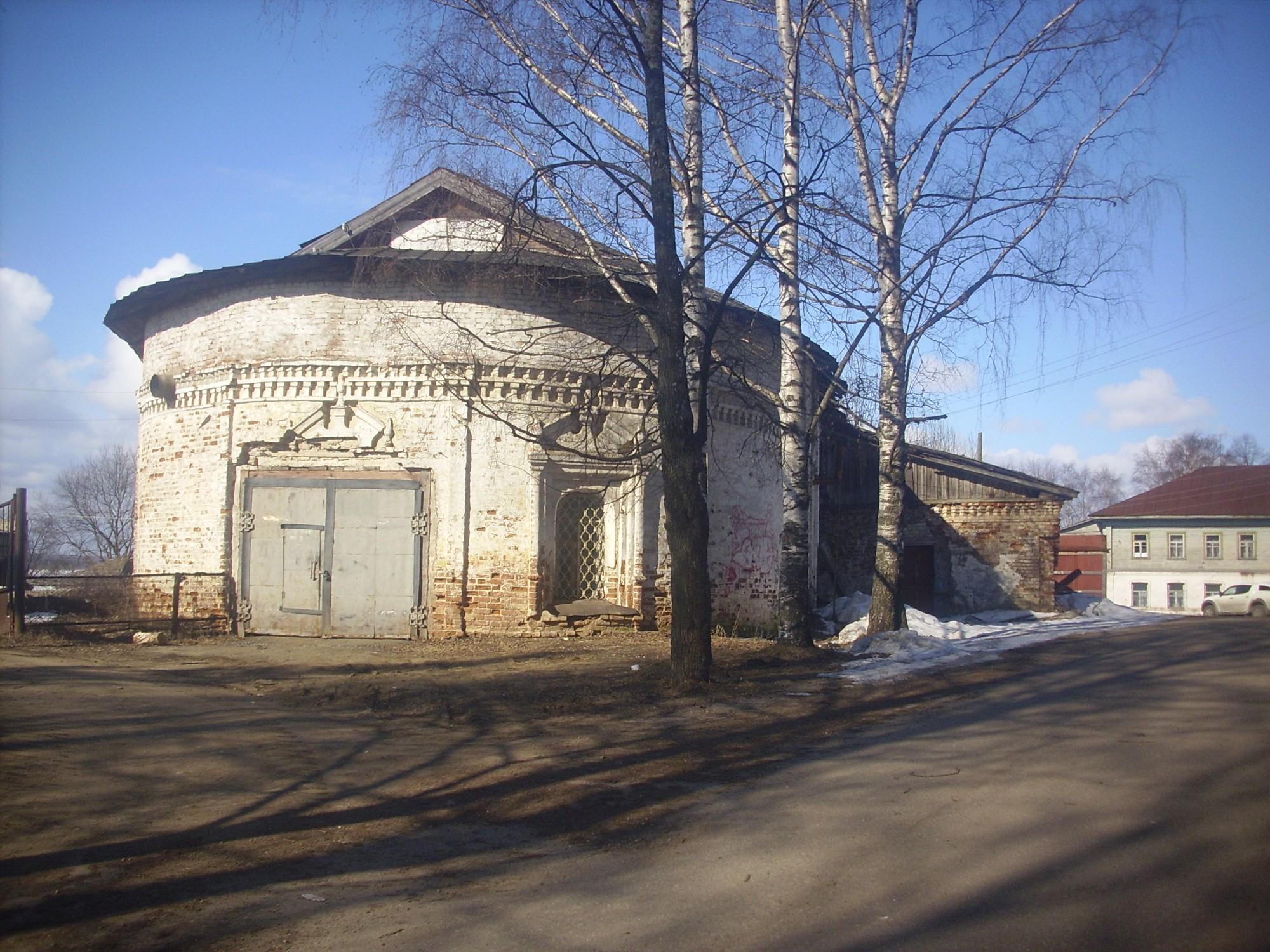 Собор Преображения Господня. г. ЧухломаРазрушен в советский период.Наши дни. 2 апреля 2014 года фото М.Шейко