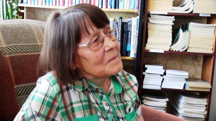 Творческий вечер Елены Львовны Балашовой в районной библиотеке, 3 июня 2014 года. фото Михаила Шейко