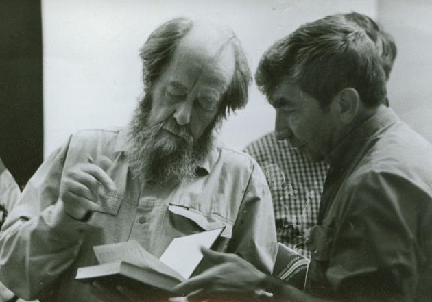 А. И. Солженицын и В. И. Рахматов