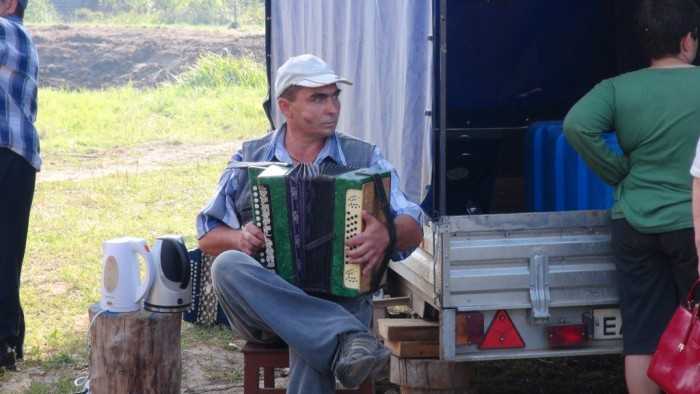 На празднике деревни 2 августа 2014 года. фото Михаила Шейко