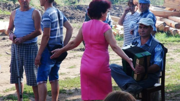 На празднике деревни. 2 августа 2014 года. фото Михаила Шейко