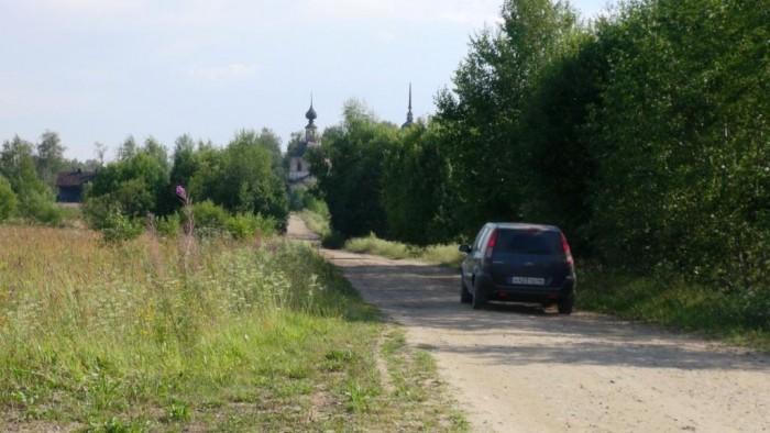 Дорога в Осташово. фото Михаила Шейко