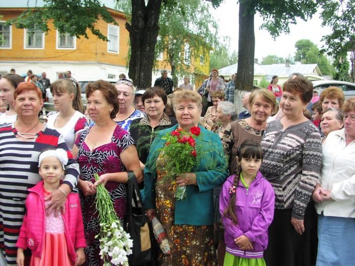 Торжественное открытие памятника детям войны в городе Чухлома 3 июля 2014 года. фото Николая Журавлева.