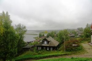 Вид из городского парка фото Михаила Шейко, 2013 год