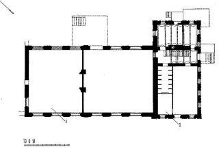 Электрическая станция. План 1-го этажа