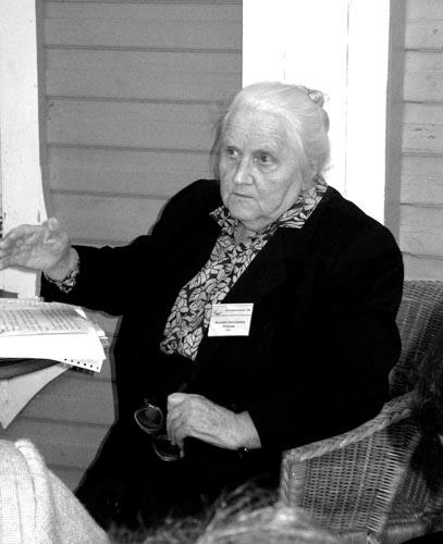 Л.А. Розанова, 2003 г.