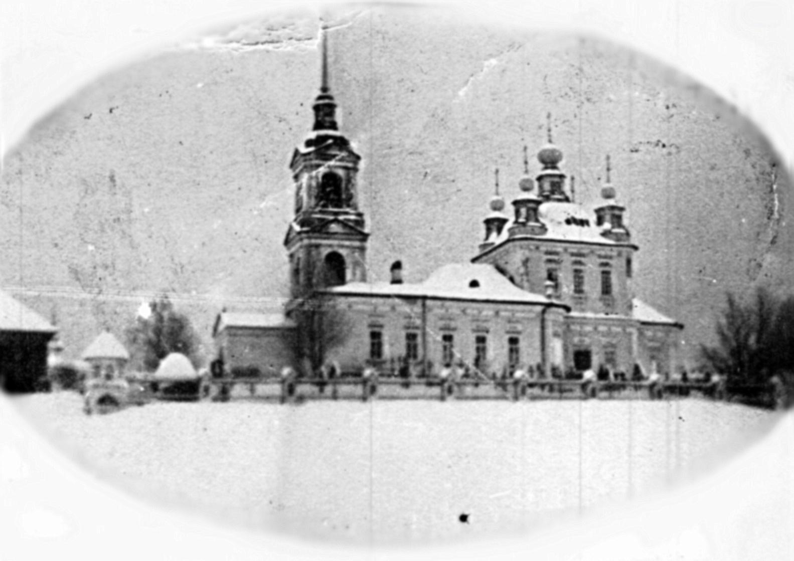 Храм Николая Чудотворца. с.Дорок