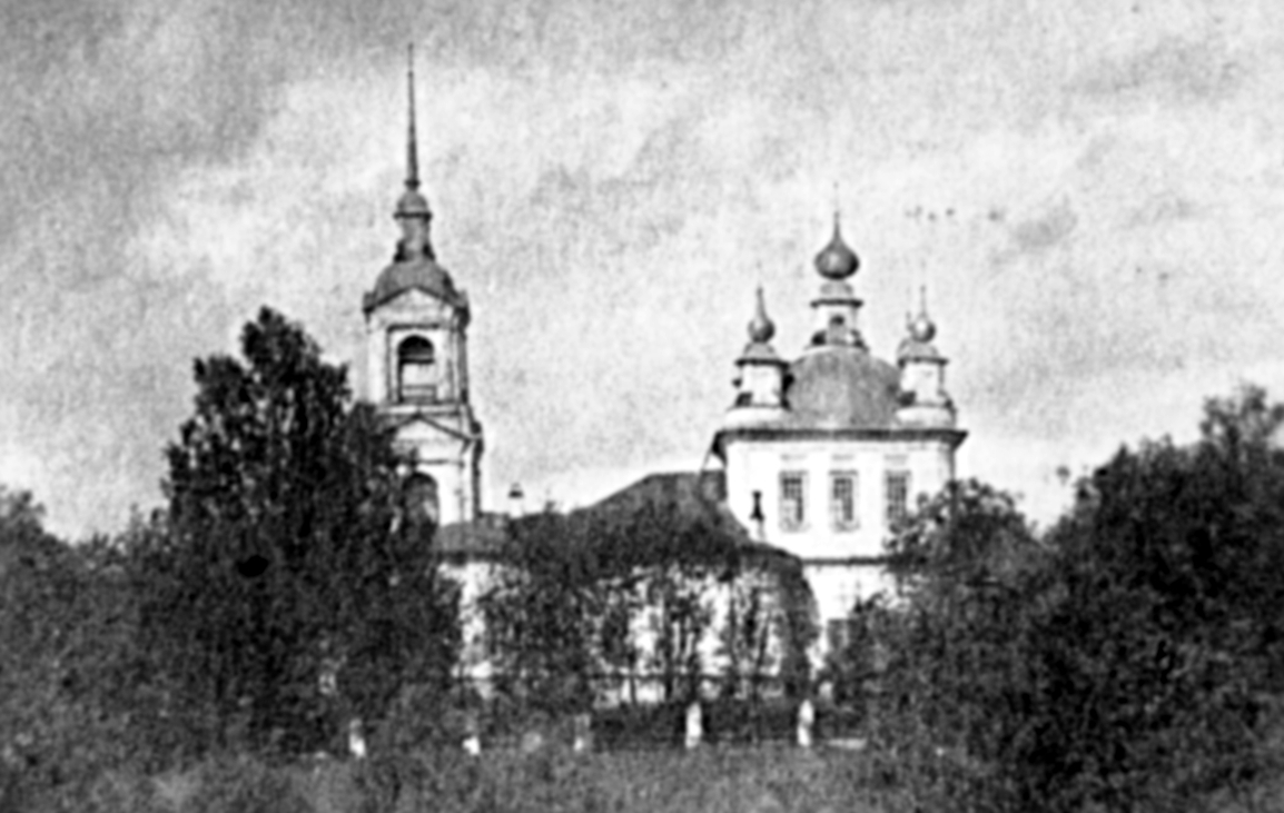 Храм Николая Чудотворца.  уроч. Дорок.