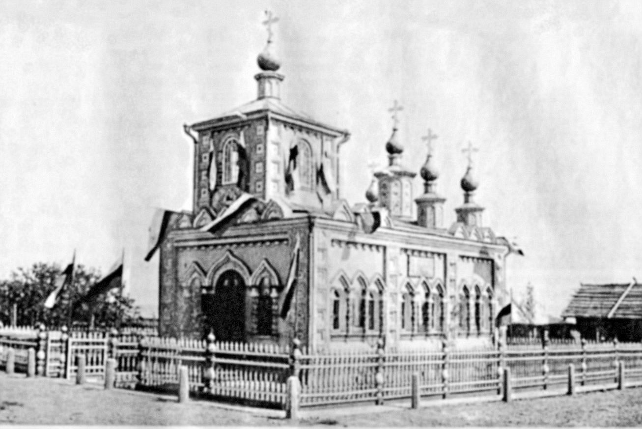 Часовня в деревне Коровье Георгиевской волости.