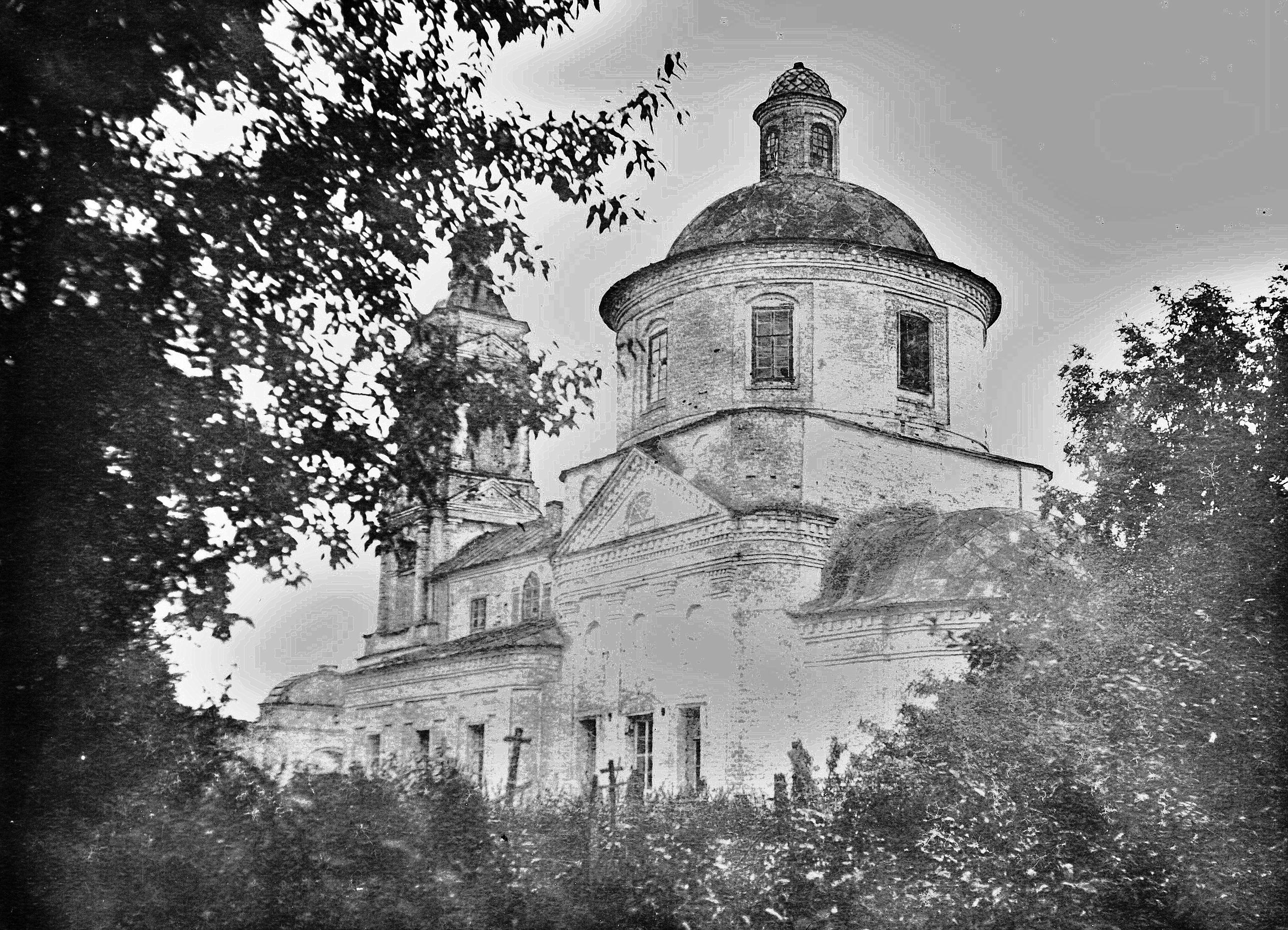 Троицкая церковь села Федькова Слободка.