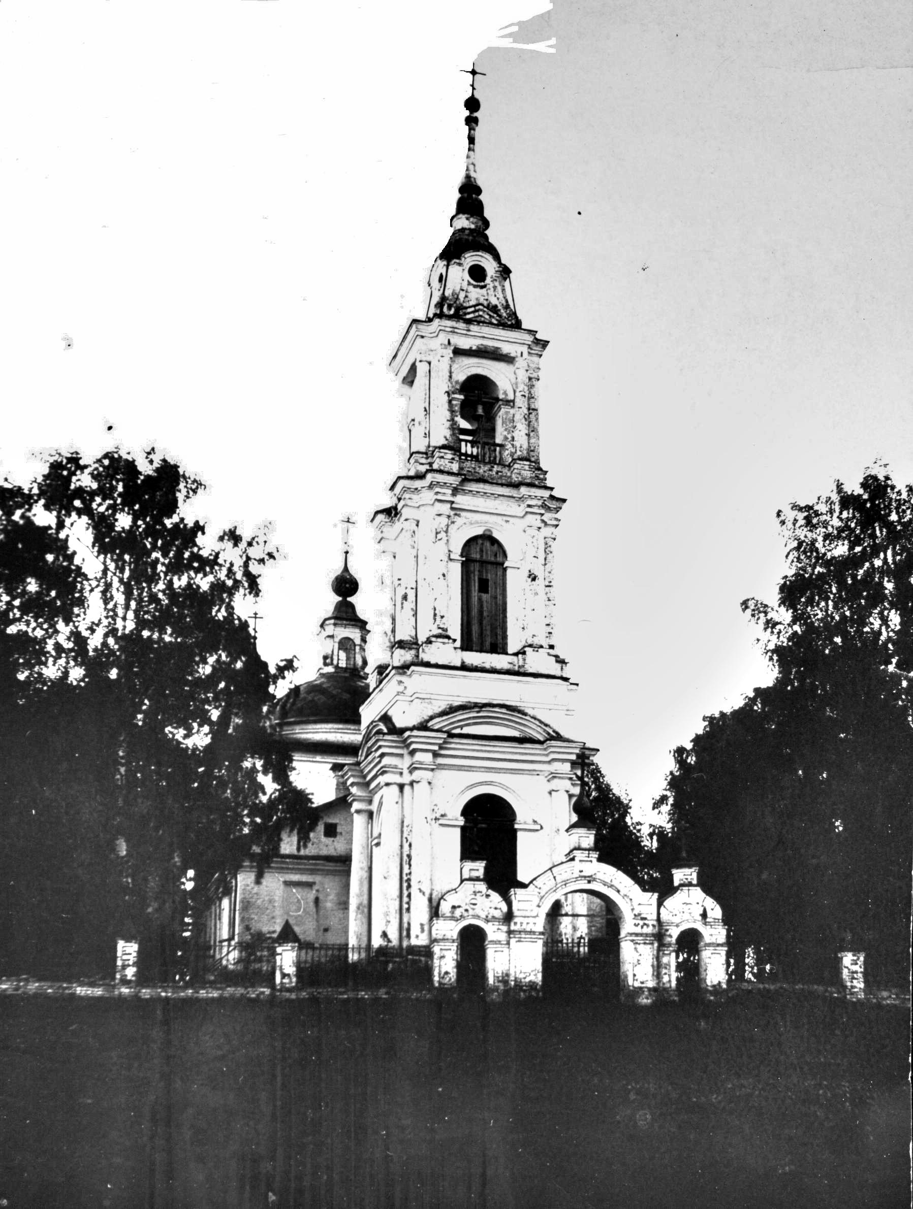 Храм Рождества Богородицы села Лавретьевское