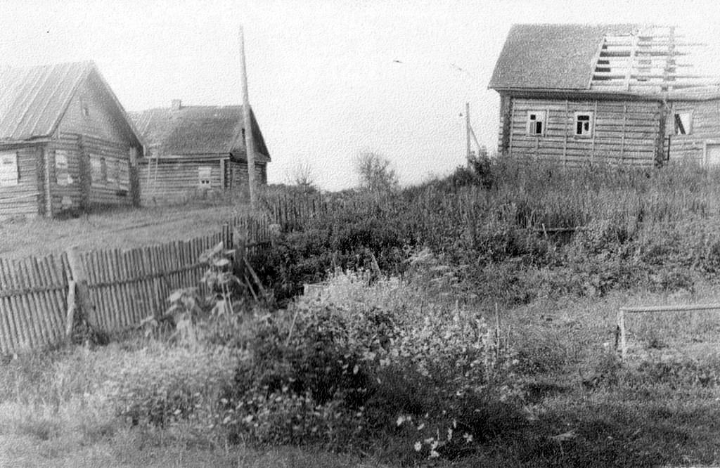 село Рамешки, 80 годы 20 века. фото предоставлено Лидией Родионовой.