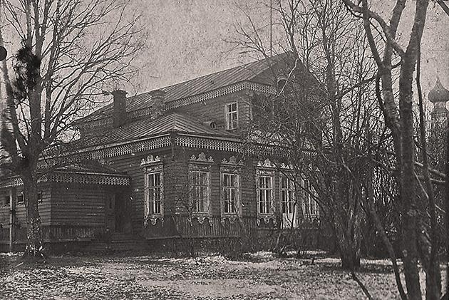 Парковый дом села Введенское. фото 1930 года.
