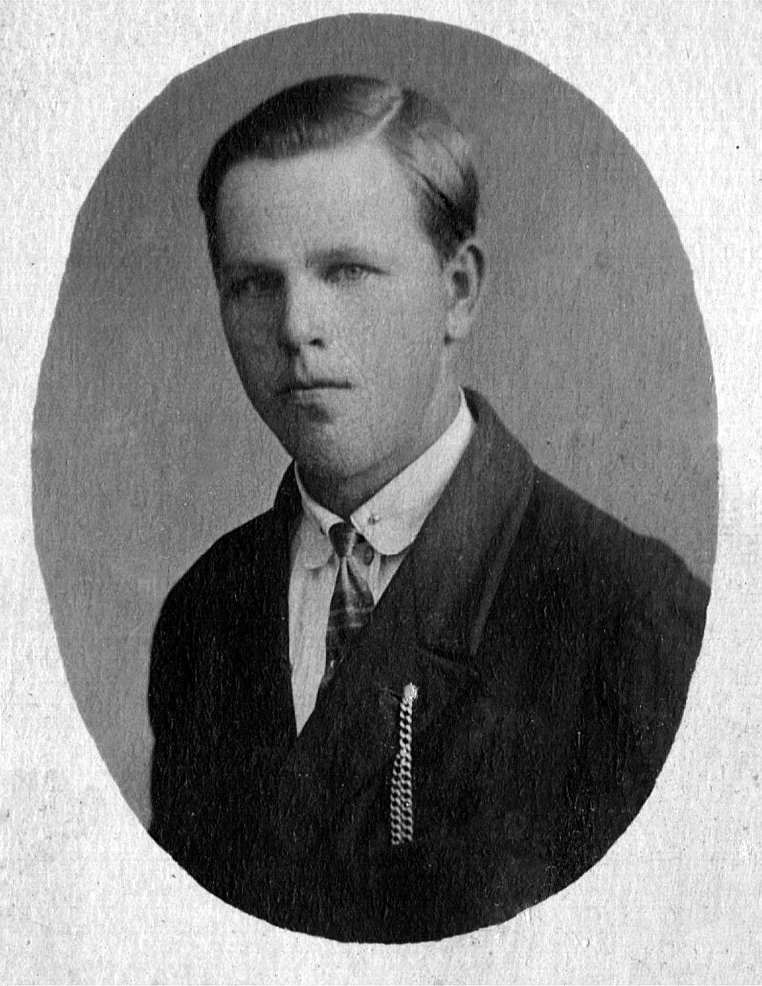 Лебедев Василий Иванович фото 1931 года из семейного архива Назаренковой Т.Н.