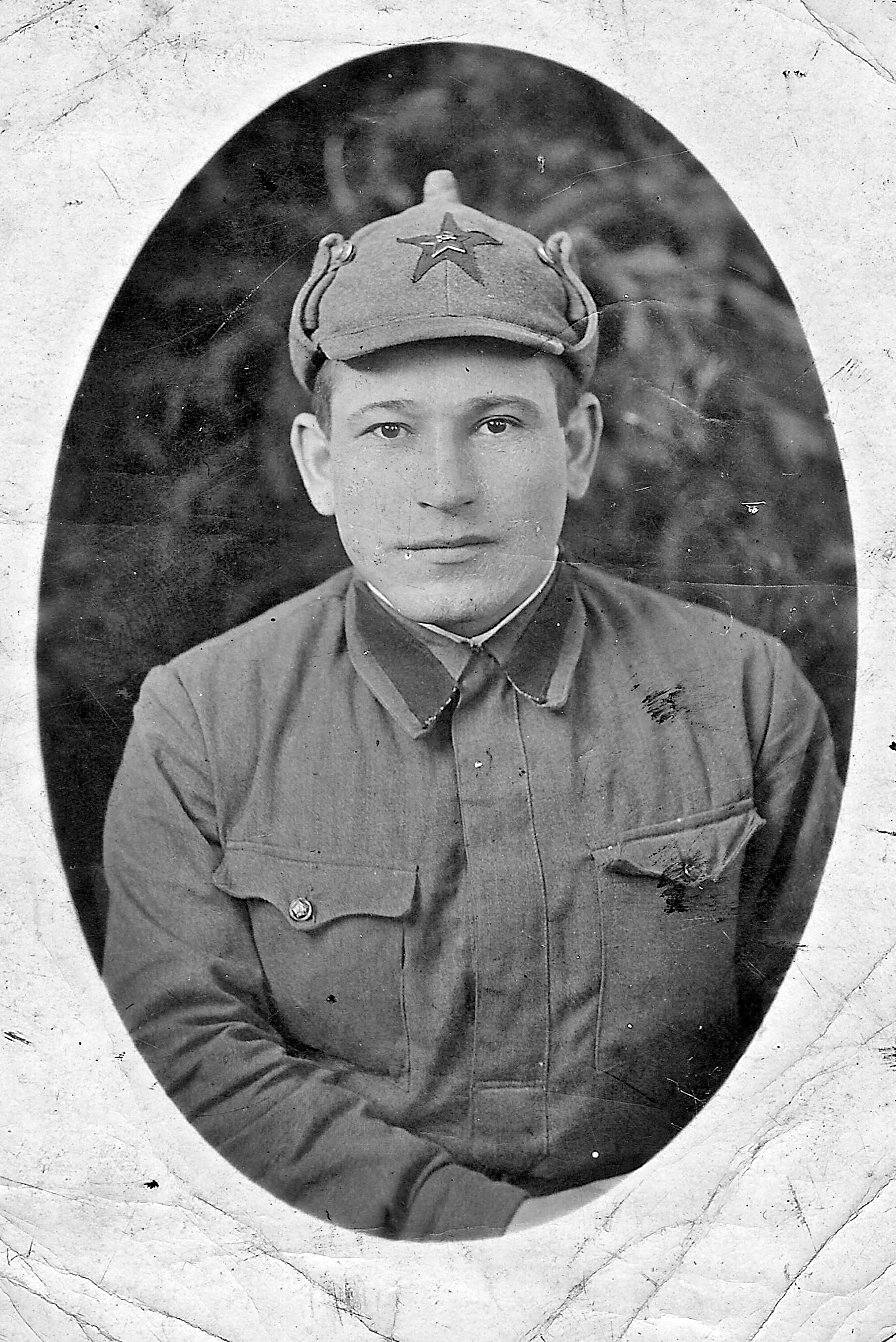 Добрецов А.Ф. фото 1941 года из семейного архива внука Добрецова А.Ю.