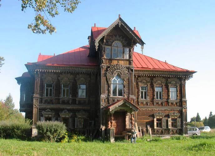 Терем деревни Погорелово.