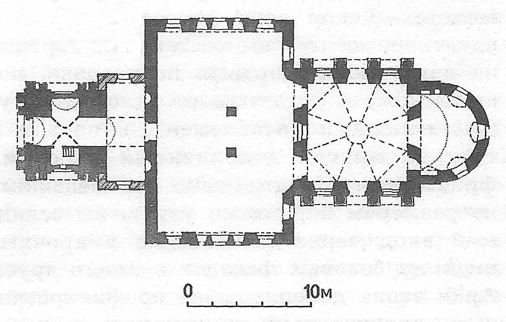 План церкви Ильи Пророка