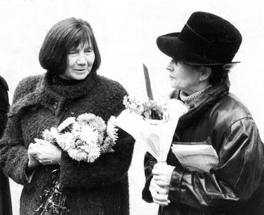 А. В. Соловьёва и Н. П. Родионова