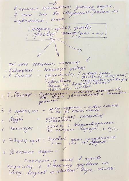 Страница письма