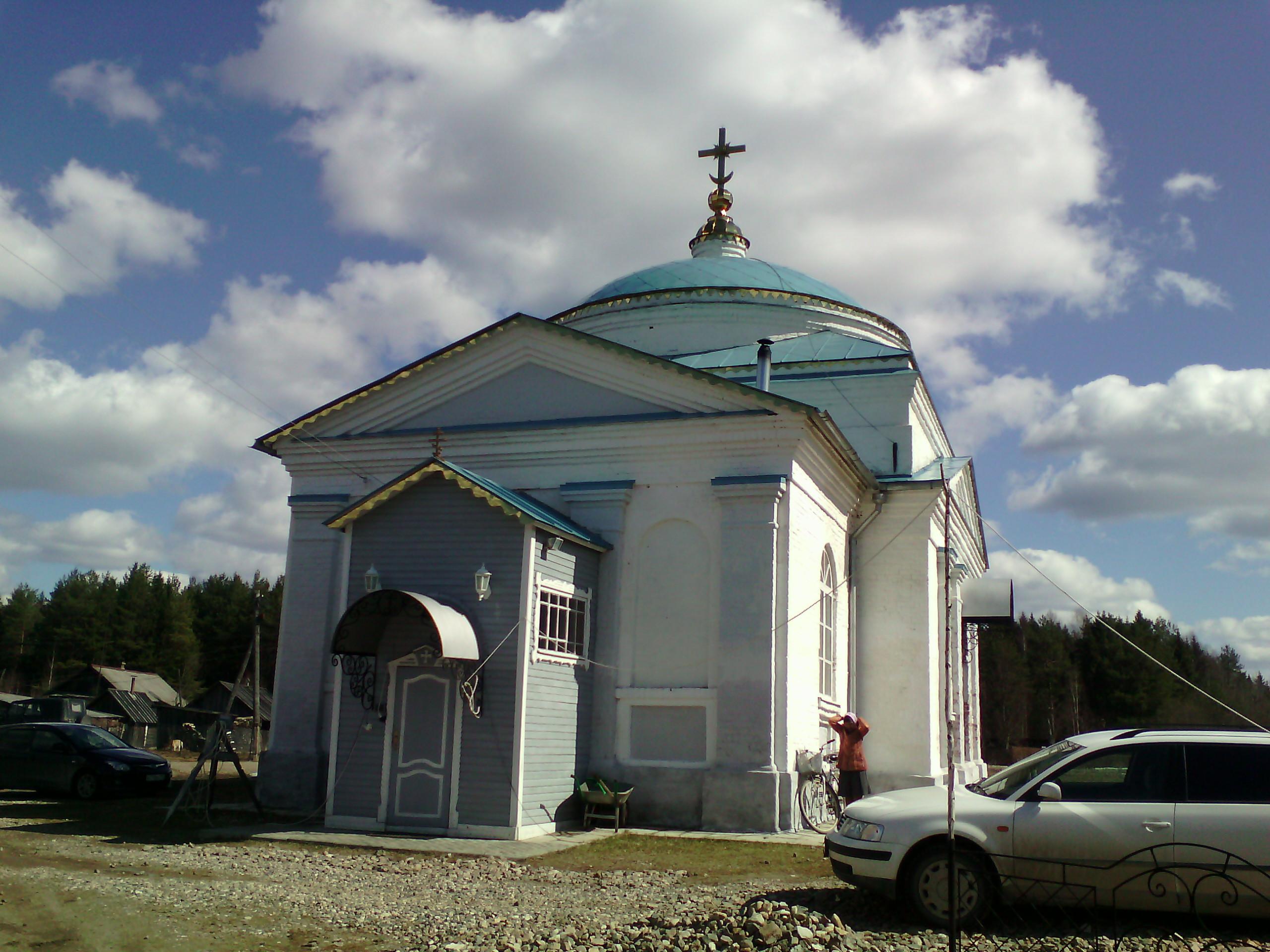 Церковь Дмитрия Солунского. фото М.Шейко, 24 апреля 2016 года.
