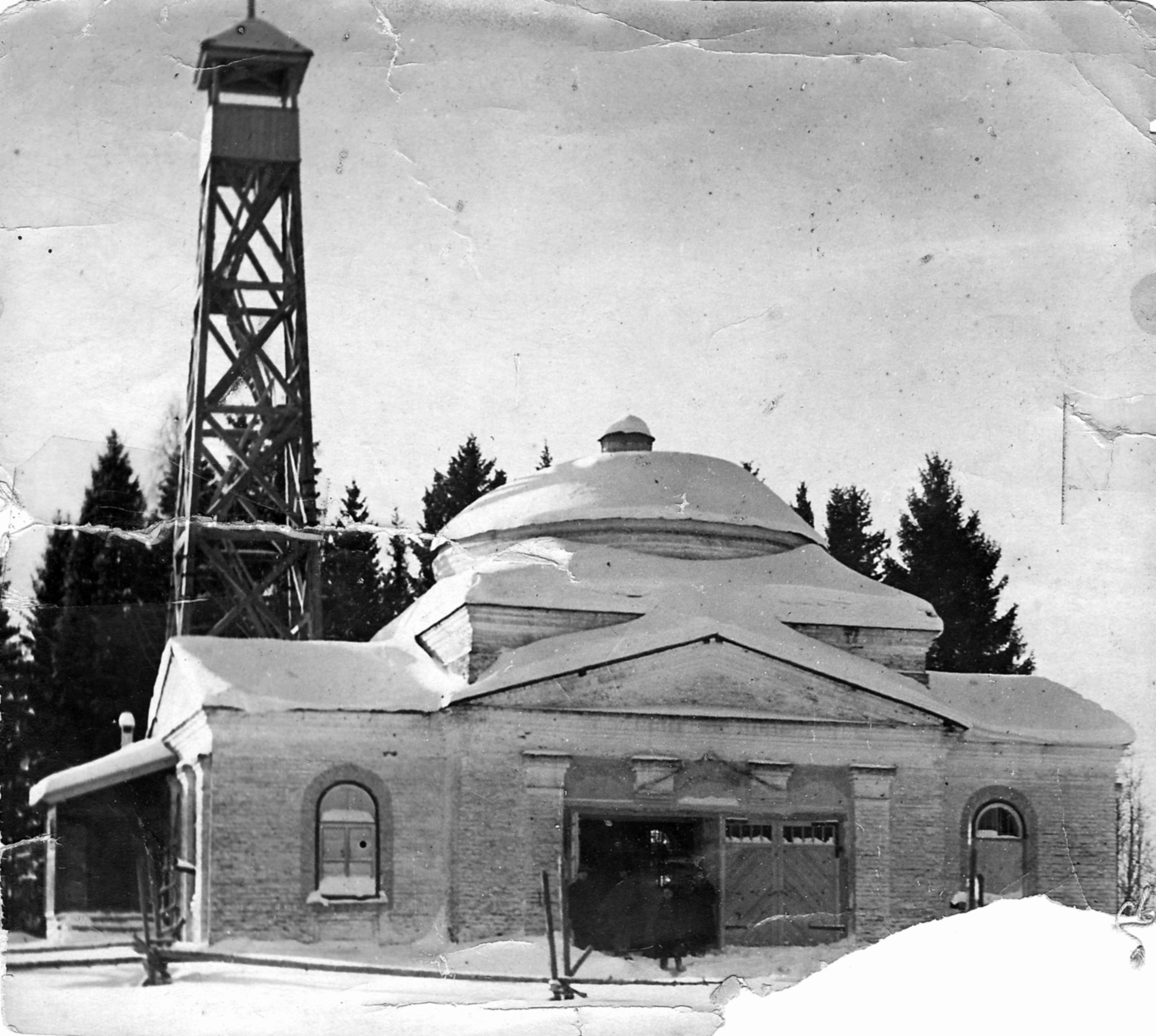 Церковь Дмитрия Солунского. фото 1950 года.