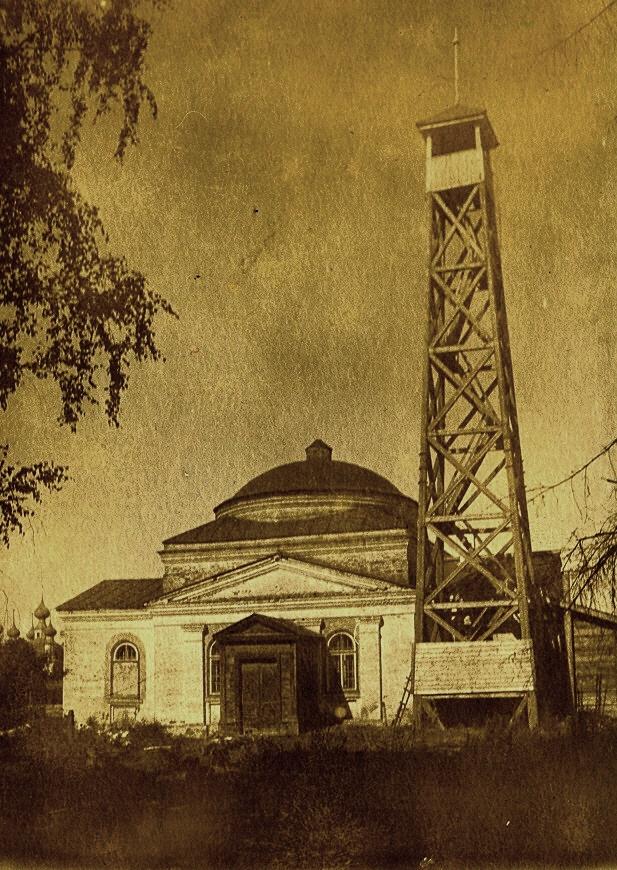 Церковь Дмитрия Солунского. фото 1939 года.