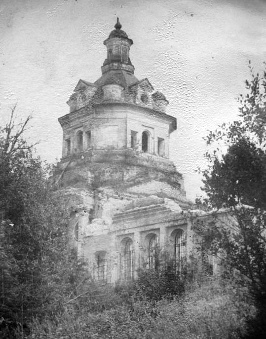 Преображенский храм села Серапиха.