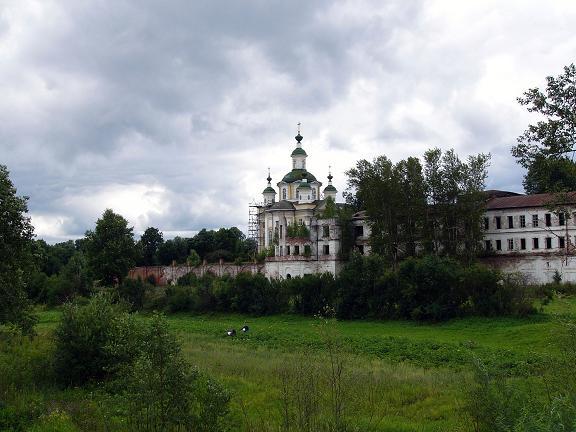 Спасо-Суморин монастырь в Тотьме